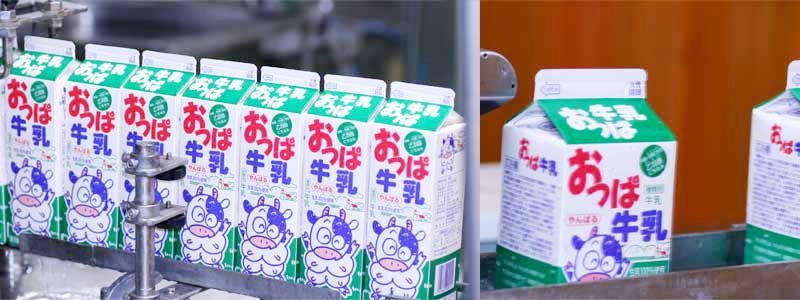 牛乳 おっぱ